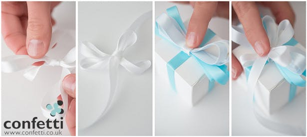 DIY Article Step by Step Blue Ribbon
