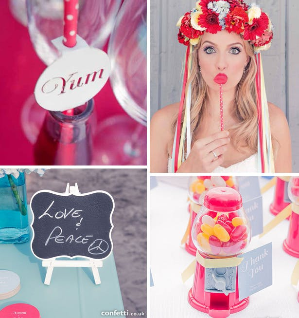 Festival Themed Wedding Accessories