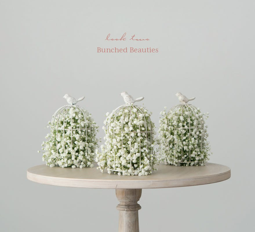 Baby's Breath DIY Wedding Centrepiece | Confetti.co.uk