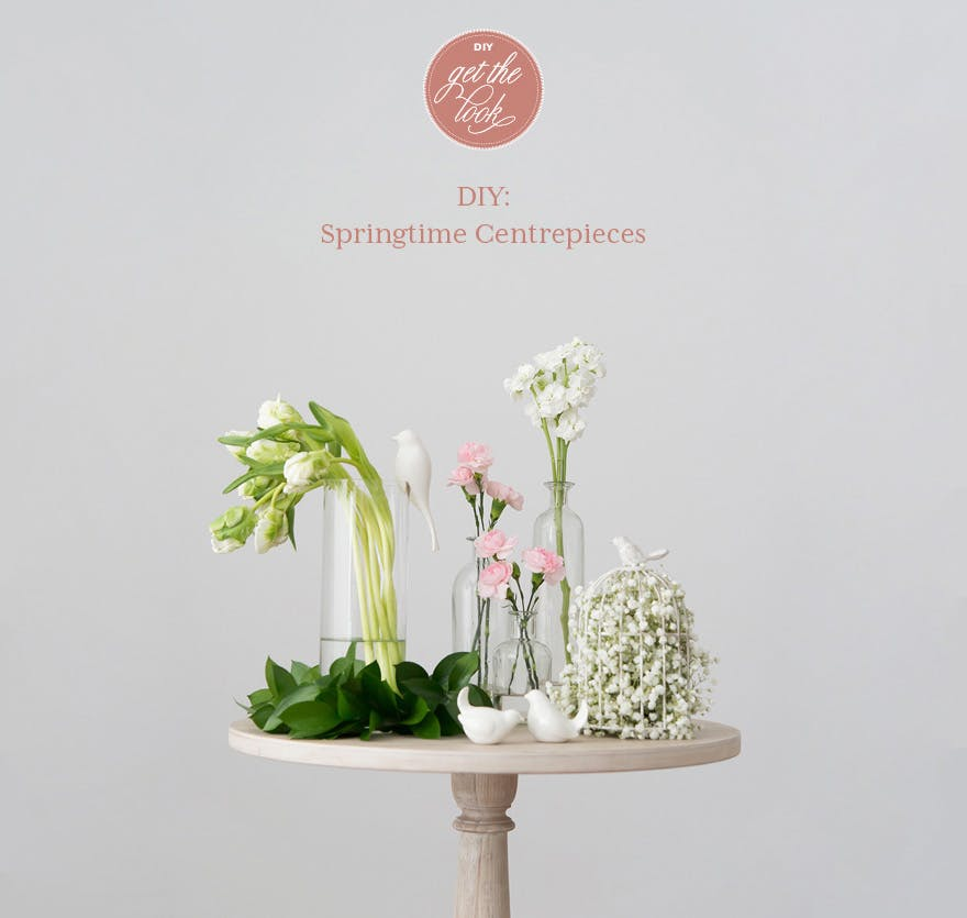 DIY Springtime Centrepieces | Confetti.co.uk