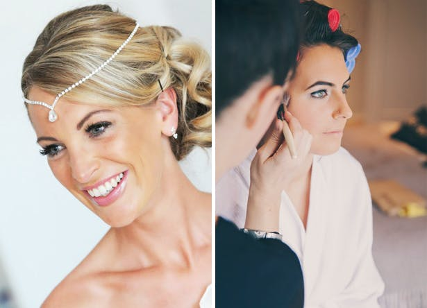 Wedding Make up by Make Up by Detoxity and Rosie Scott make up and hair