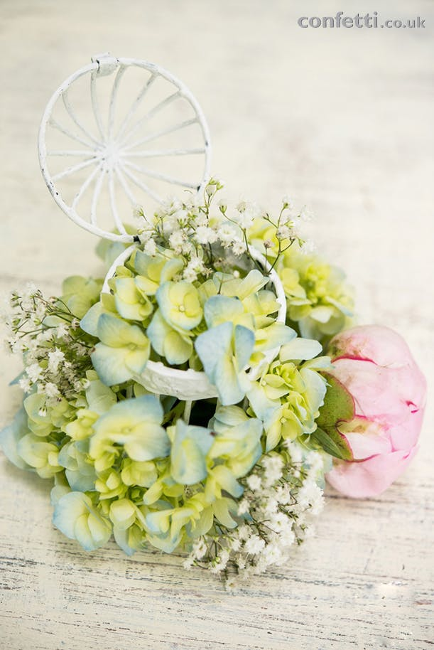 DIY Friday Flowers Birdcage Flowers