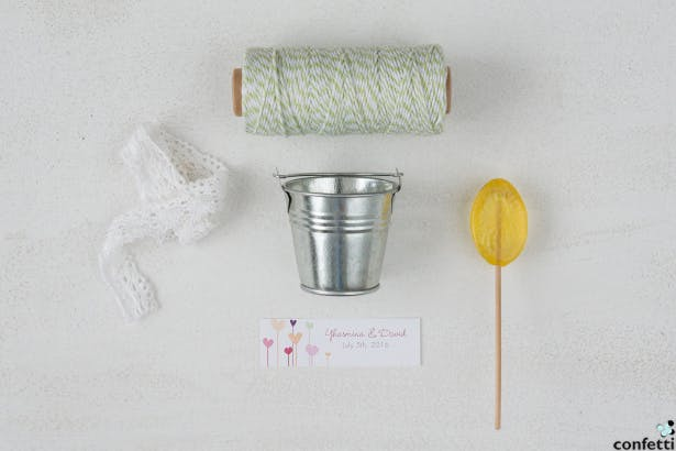 Garden Favour What You'll Need | Confetti.co.uk