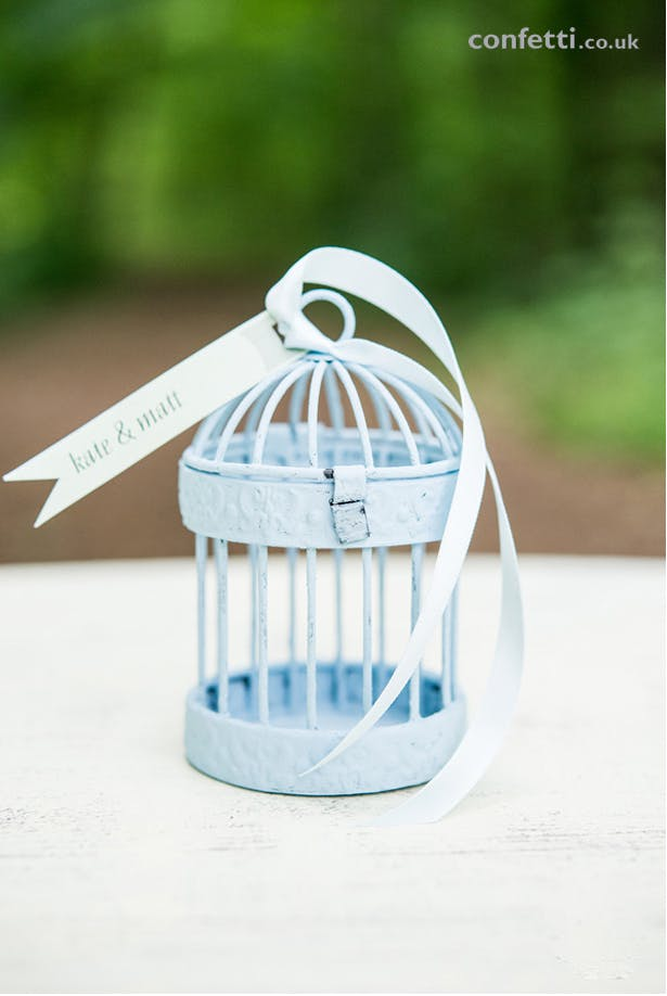 DIY Birdcage Blue