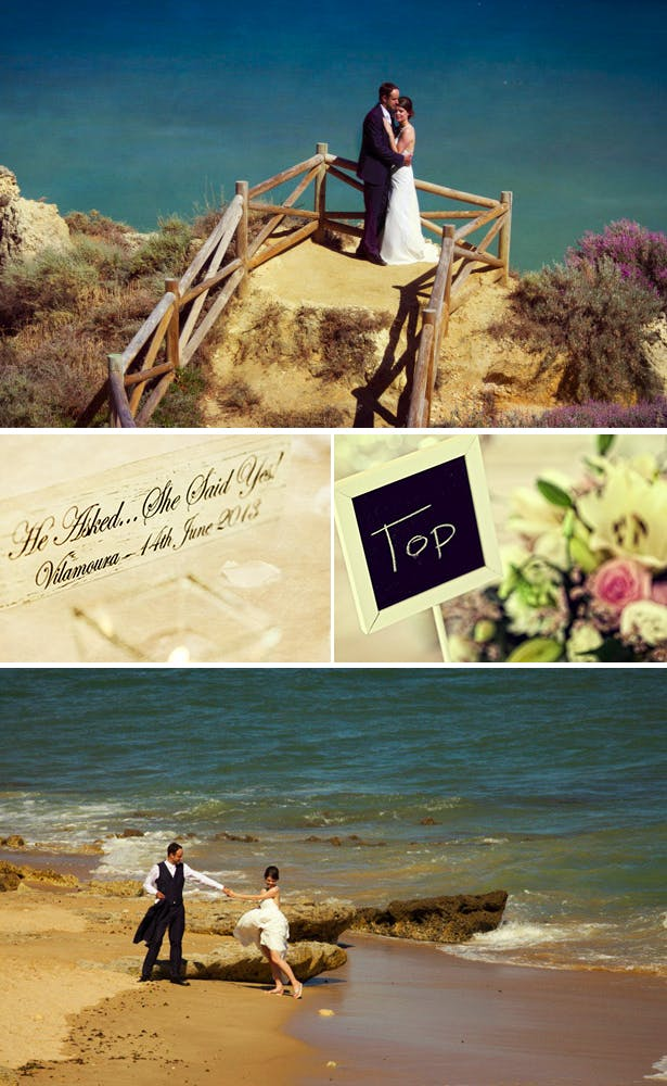 Hayley and Mark's Real Wedding in Portugal