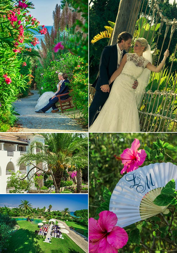 Laura and Mark's Real Wedding in Portugal