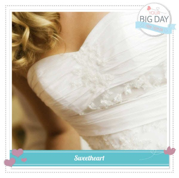 Thomson's #YourBigDay - Sweetheart Style