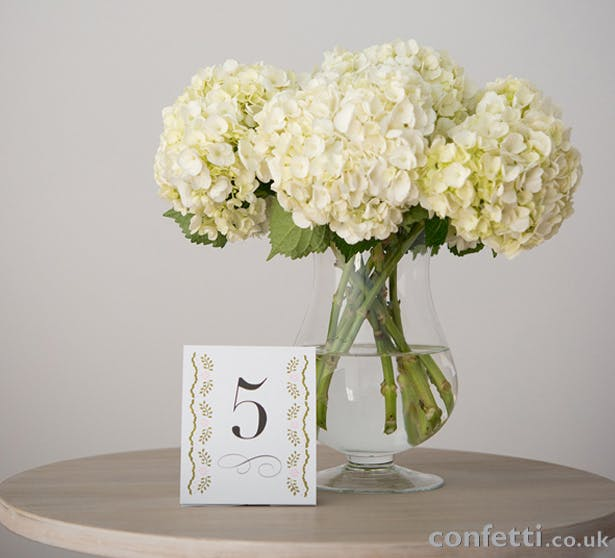 DIY Flowers look 5