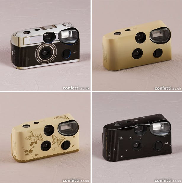 Disposable Themed Wedding Cameras