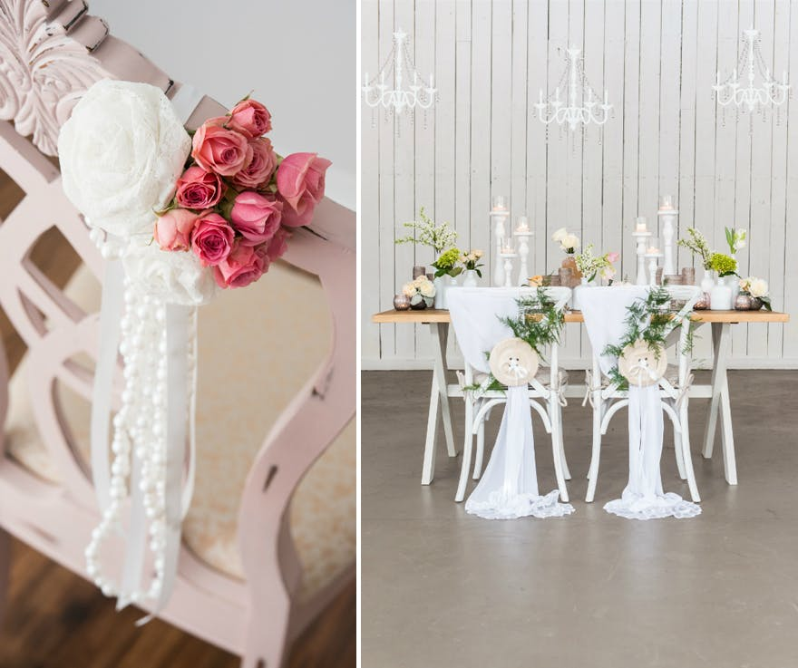 DIY Wedding Chair Backs | Confetti.co.uk