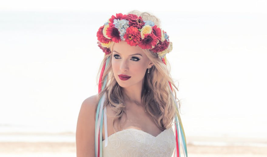 Retro Flower Crown | Confetti.co.uk