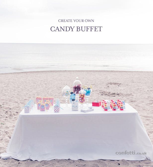 DIY Friday Candy Buffet Main Image