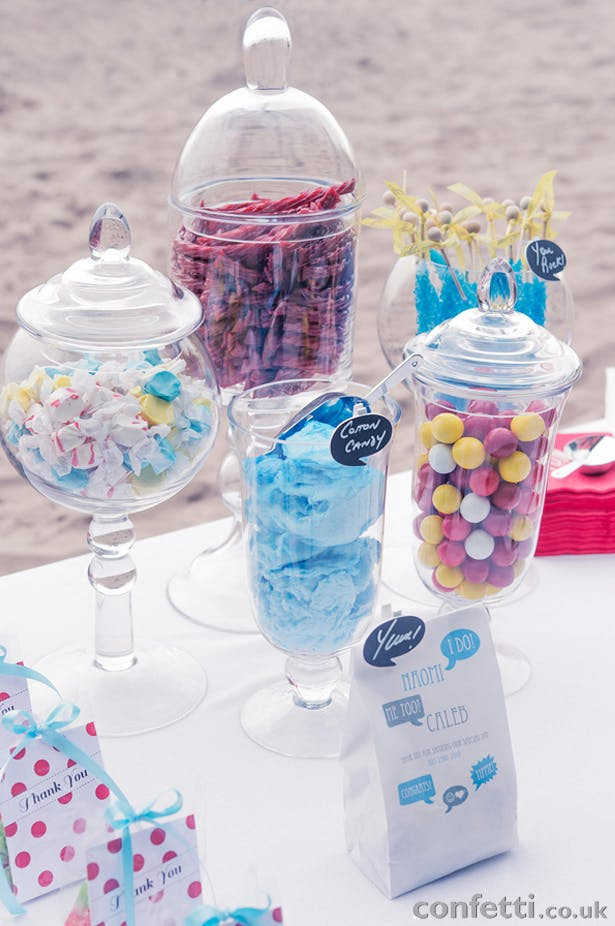 DIY Friday Candy Buffet Set Up
