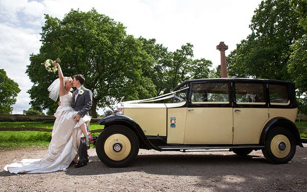 Wedding transport idea for vintage theme wedding