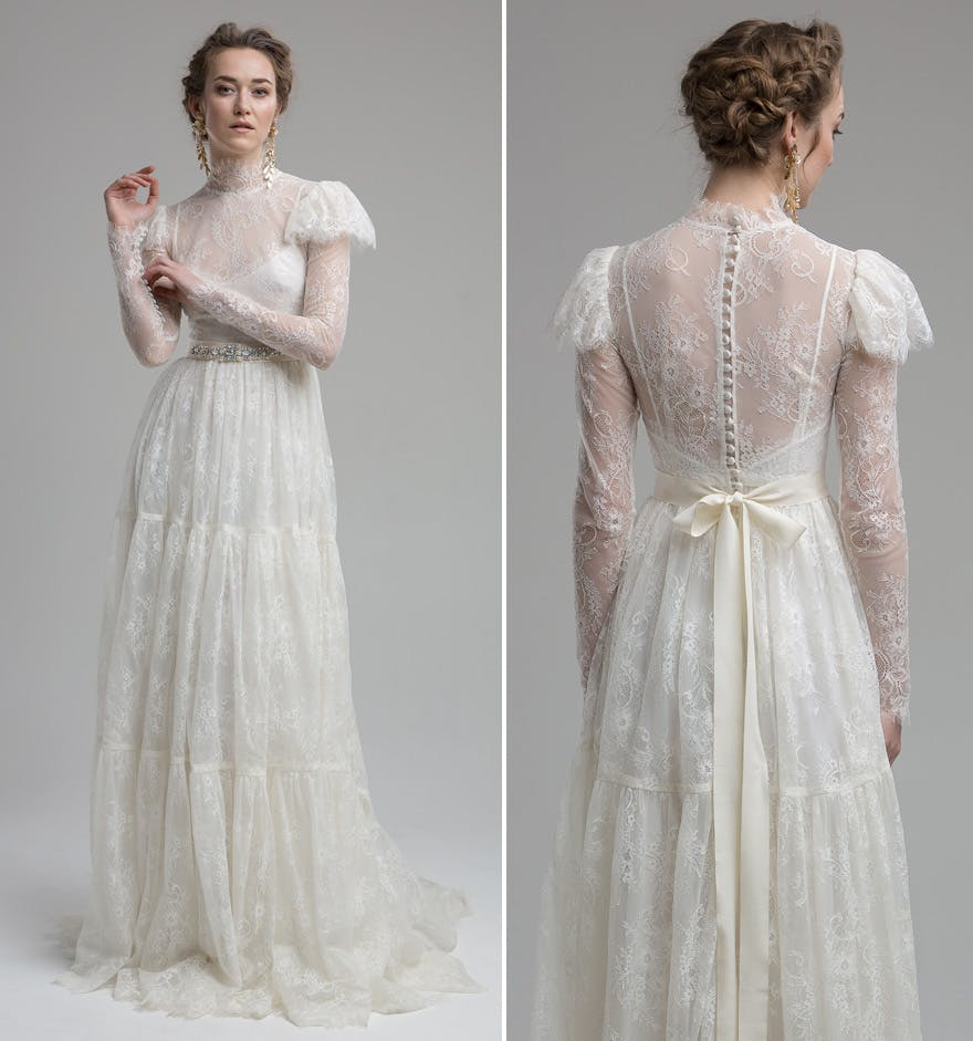 Beautiful Dresses To Wear To A Wedding: Lace Wedding Dresses: 11 Of The Most Beautiful Lace Bridal
