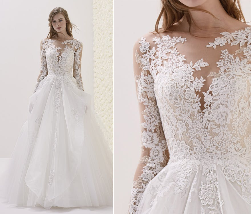 Most Beautiful Ball Gown Wedding Dresses: Lace Wedding Dresses: 11 Of The Most Beautiful Lace Bridal