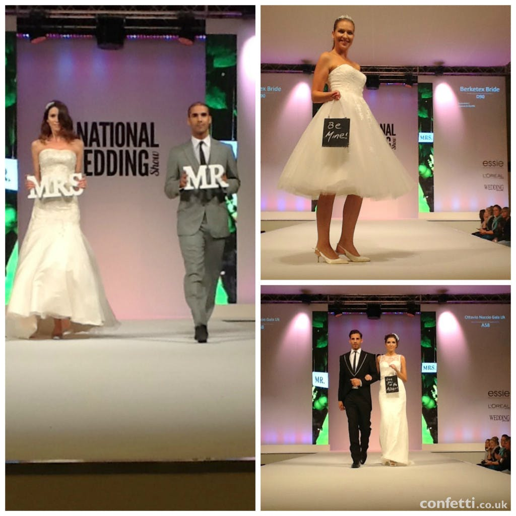 2015 Bridal Couture has shown at The National Wedding Show   Confetti.co.uk