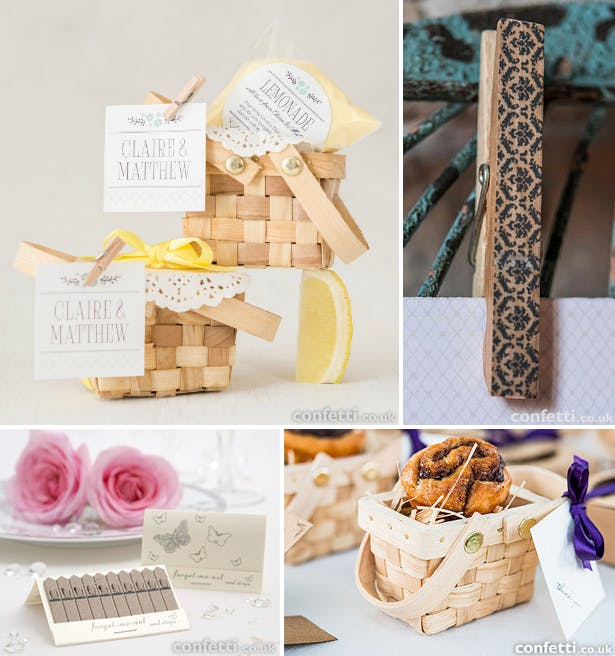 Picnic Baskets Rustic Wedding Favours | Confetti.co.uk