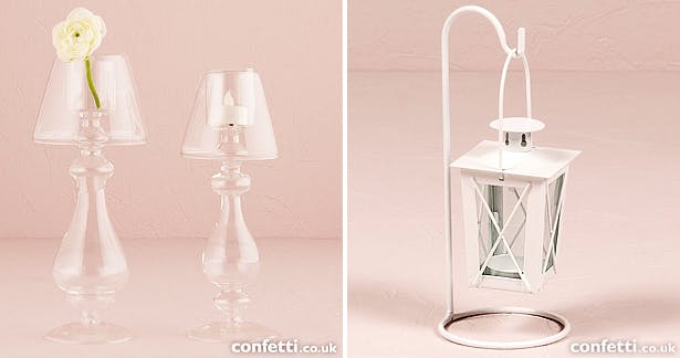 Autumn wedding candles, lanterns, and lighting | Confetti.co.uk