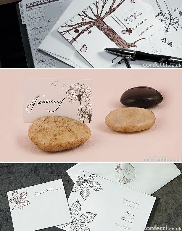 Autumn wedding stationery | Confetti.co.uk