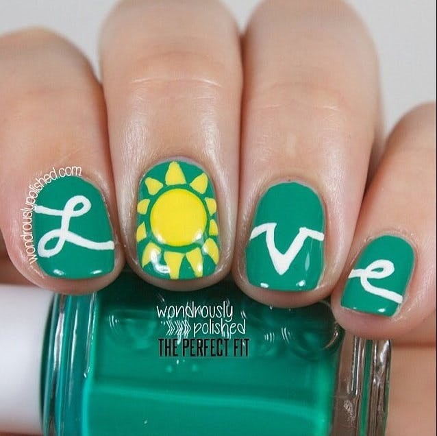 Invite the sunshine into your big day with these vibrant bridal nails | Confetti.co.uk