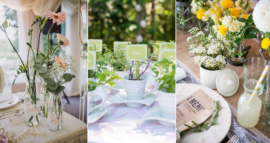 Eco Friendly Wedding Plants And Flowers Confetti Co Uk