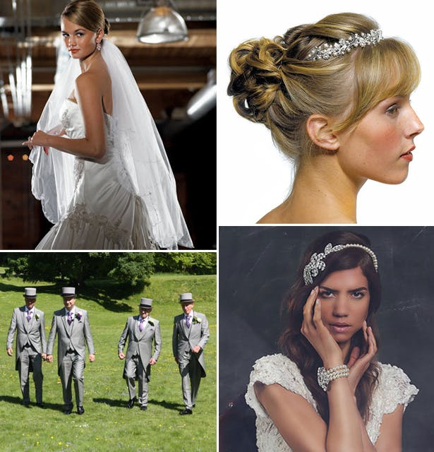 Head-wear for the bride and groom | Confetti.co.uk