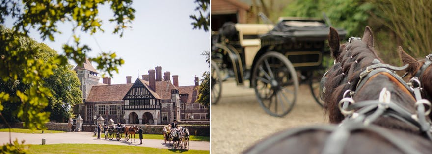 Wedding Horse and Carriages and Horse and Carts | Confetti.co.uk