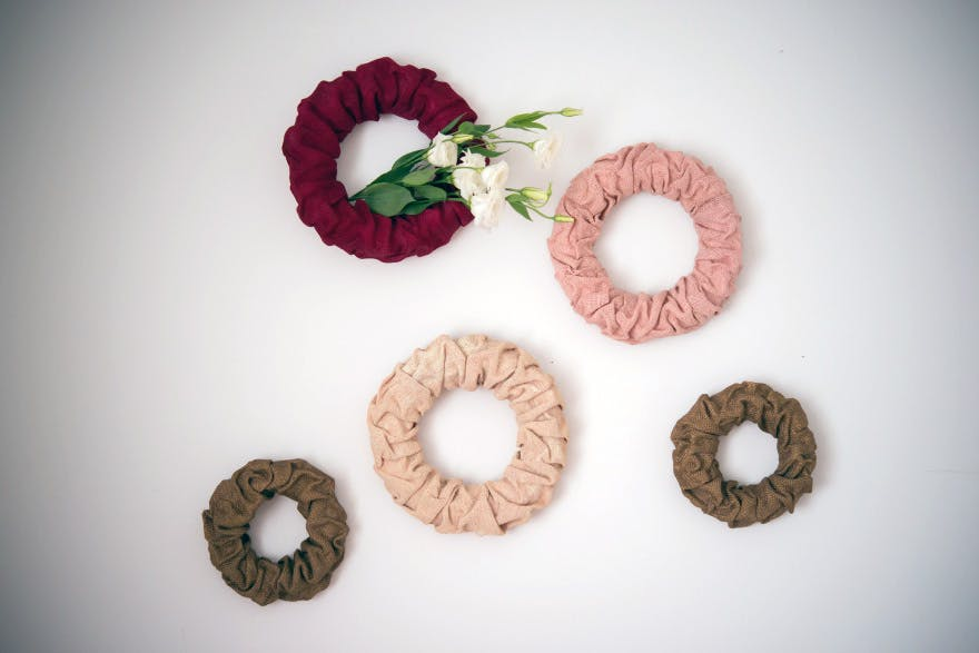 Wreath Decorations - Decorative wall wreaths with bunched flowers   Confetti.co.uk