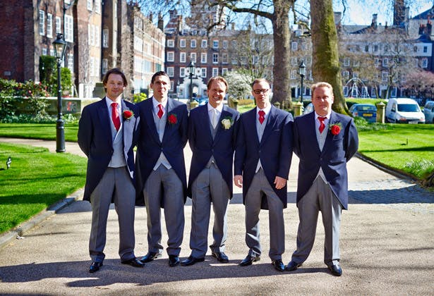 Groom and groomsmen by Douglas Fry | Confetti.co.uk