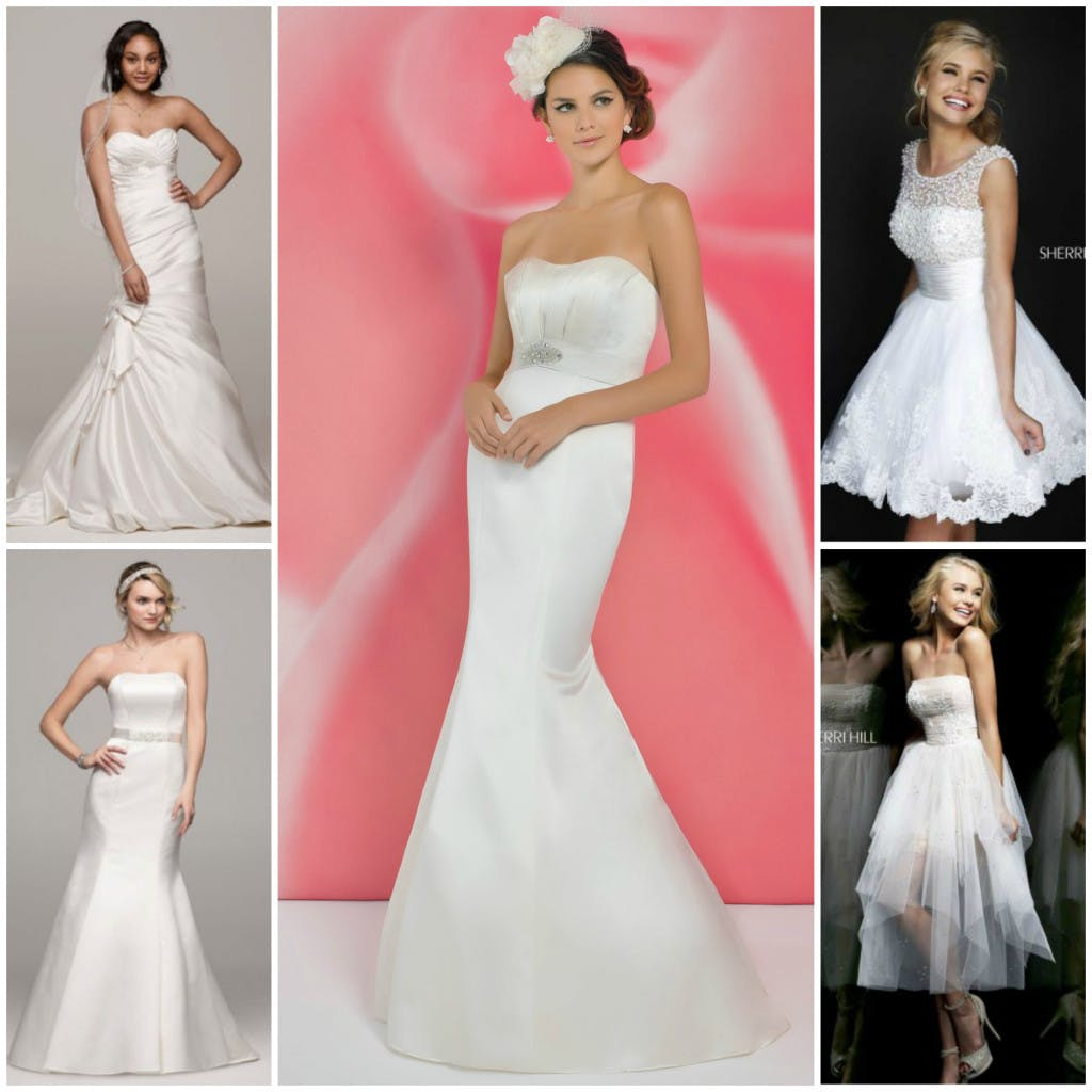 5 wedding dresses under £500 from Confetti.co.