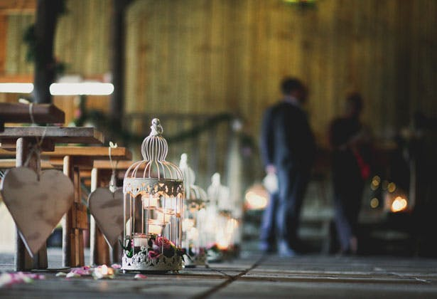 Amazing DIY Ideas From Our Real Weddings | DIY asile decorations | Shabby Chic decor | Confetti.co.uk