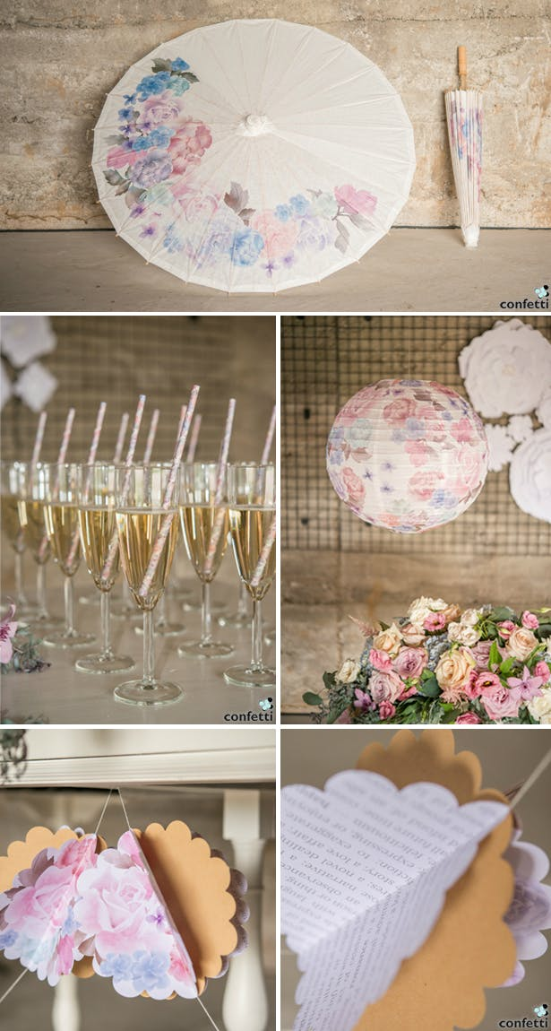 Boho Paper Decor | Confetti.co.uk