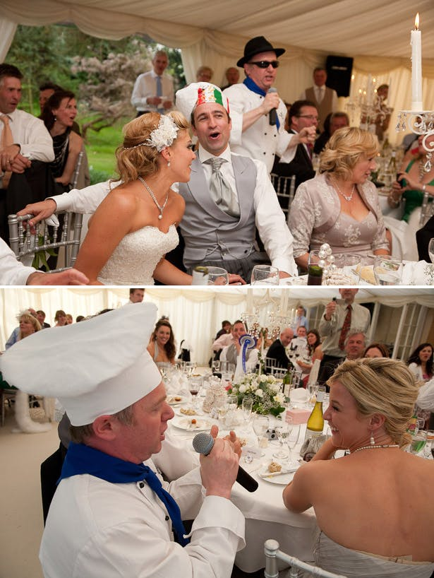 Singing waiters for weddings | Confetti.co.uk