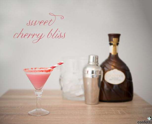 Sweet Cherry Bliss Drink | Confetti.co.uk
