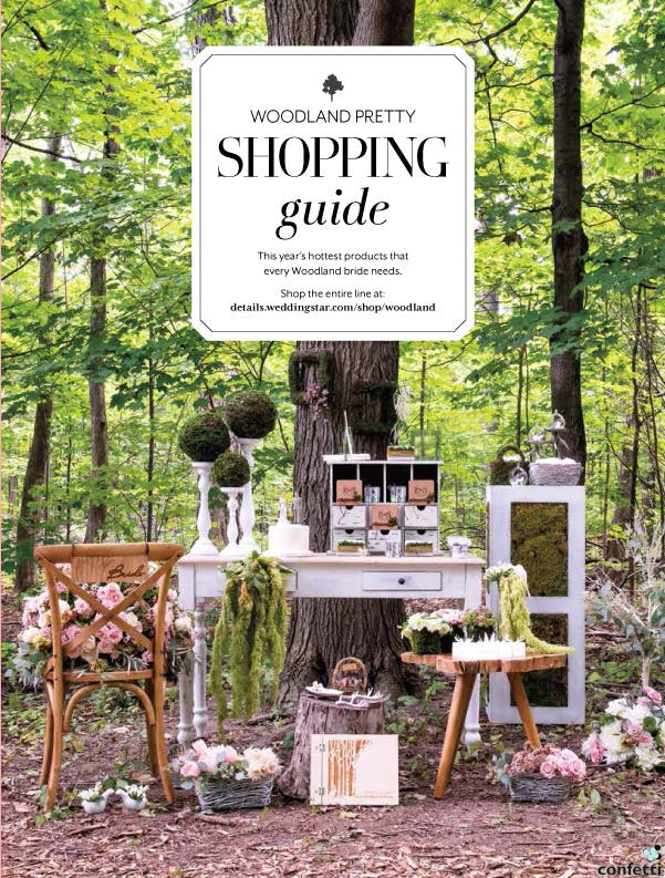 Woodland Wedding Theme Shopping Guide from Confetti.co.uk