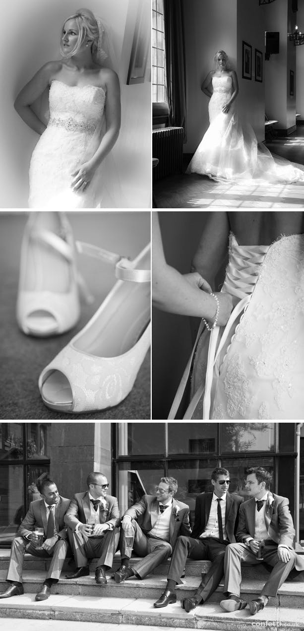 Amy and David's Real Wedding By Finesse Photography | Confetti.co.uk