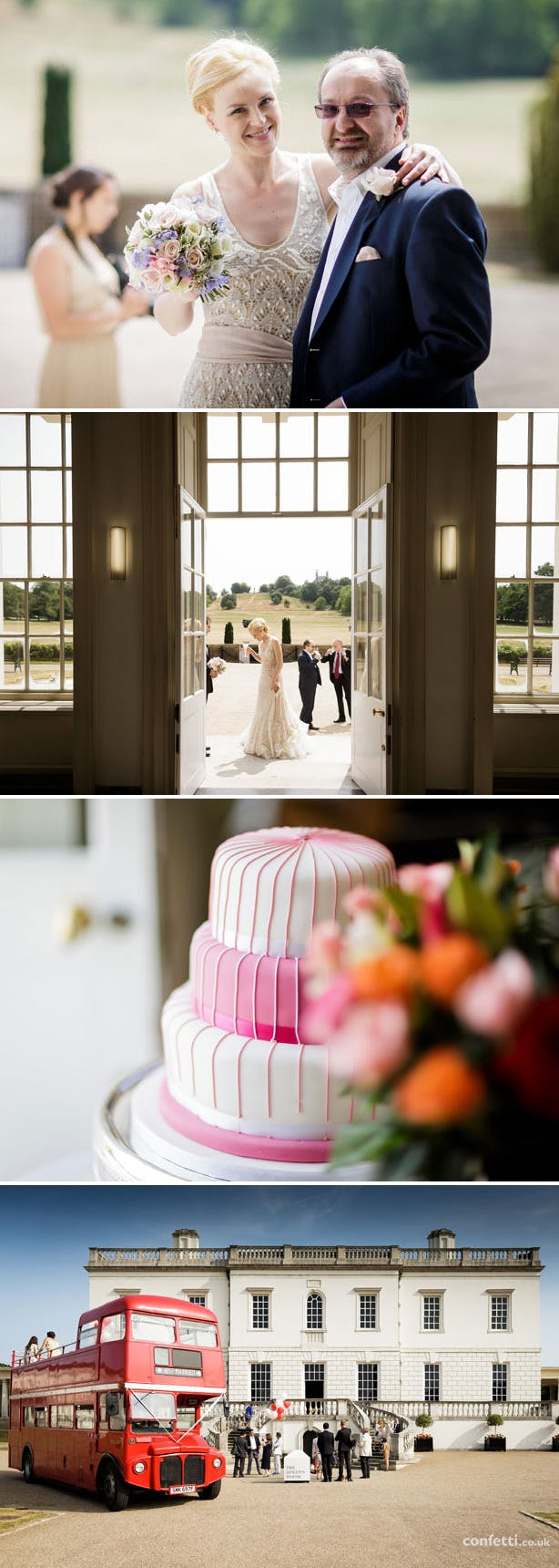 Ene and Graham's Real Wedding by Douglas Fry | Confetti.co.uk