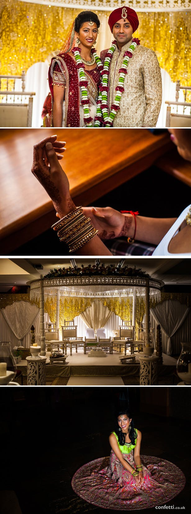 Devina And Shiv's Indian Real Wedding | Confetti.co.uk