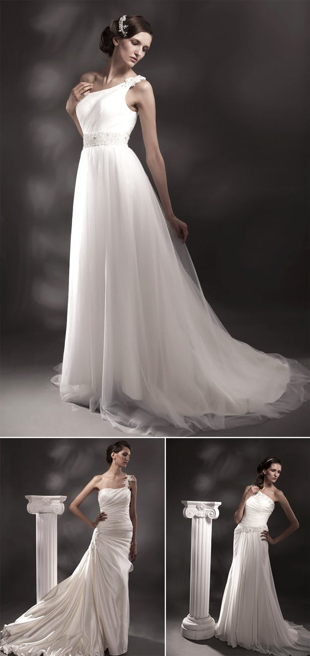 Greek Goddess Style Wedding Dresses - Confetti co uk