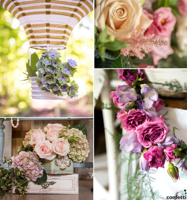 Vibrant Floral Wedding Decor | Confetti.co.uk