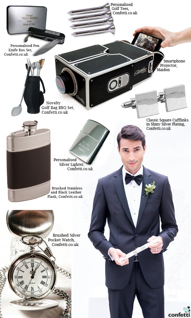 Buying Wedding Gifts For The Groomsmen Confetti Co Uk