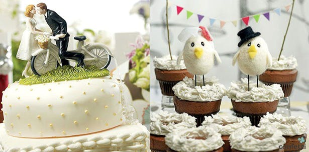 Easter cake toppers