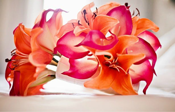 Spanish flowers by Silk Blooms | Confetti.co.uk