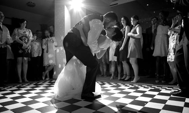 The first dance | Lizzie and Greg's Real Wedding | Confetti.co.uk