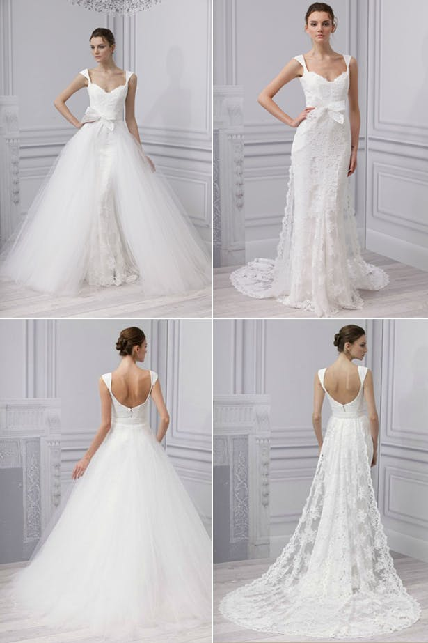 Convertible Two In One Wedding Dresses Confetticouk
