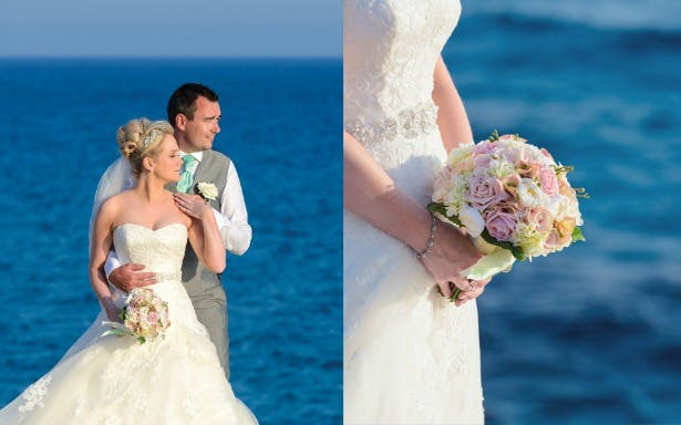 Silk Blooms bouquets for weddings abroad