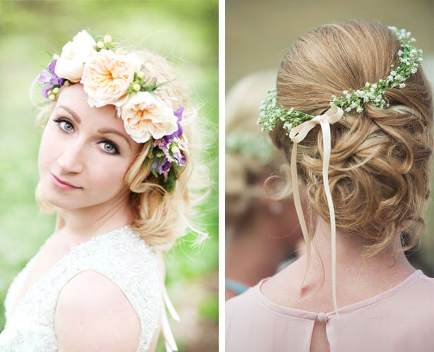 Blossom Wedding Hair | Confetti.co.uk