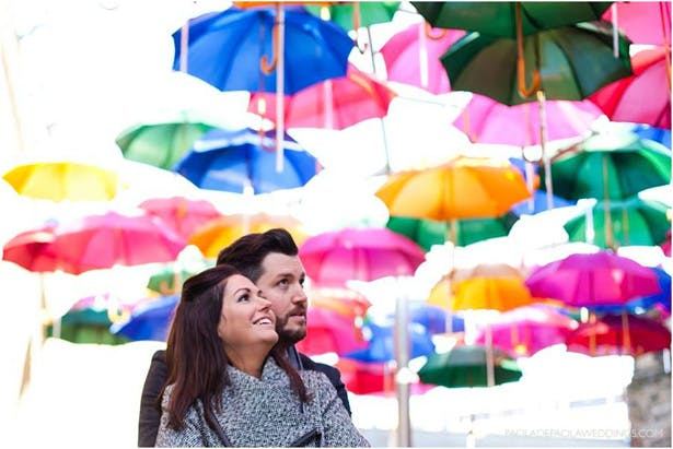 Kim and Dan's Real Engagement | Engagement shoot ideas in London | #engaged #engagement #Idea | Confetti.co.uk
