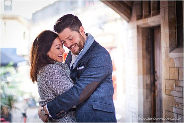 Kim and Dan's Real Engagement   Engagement shoot idea in London   Bride and Groom to be   # London #Urban #Engaged #Engagement #Idea   Confetti.co.uk